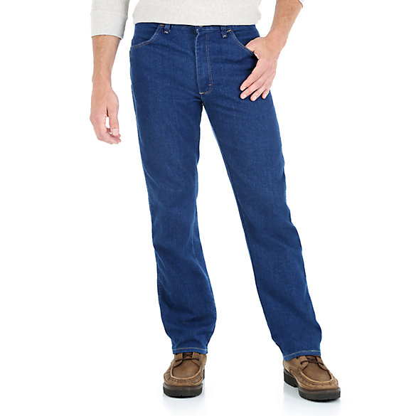 mens stretch jeans wrangler® midweight stretch jean mbvtalx