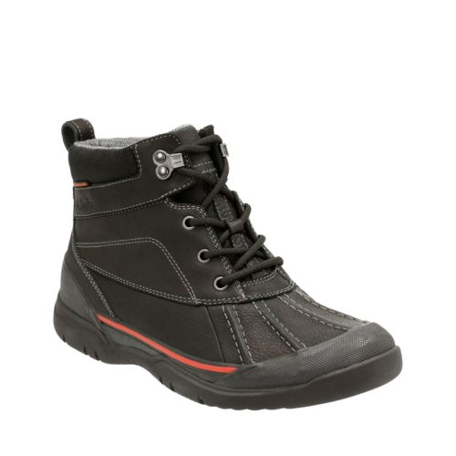 mens waterproof boots allyn top black leather-waterproof mens-waterproof-boots wtoyjrl