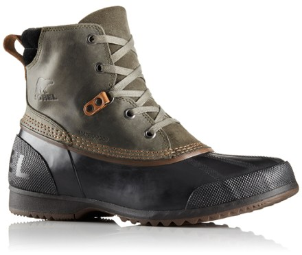 mens waterproof boots sorel ankeny waterproof boots - menu0027s - rei.com jzvffup
