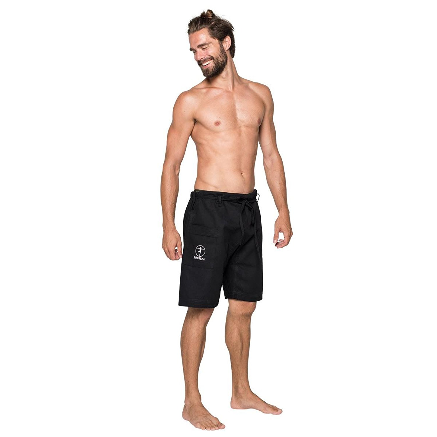 mens yoga shorts amazon.com: menu0027s yoga shorts in organic cotton: clothing tylvykj