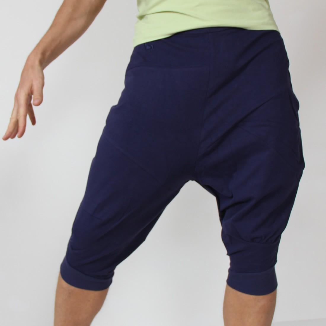 mens yoga shorts ... pasha harem yoga pants for men by prancing leopard ... ekptldp