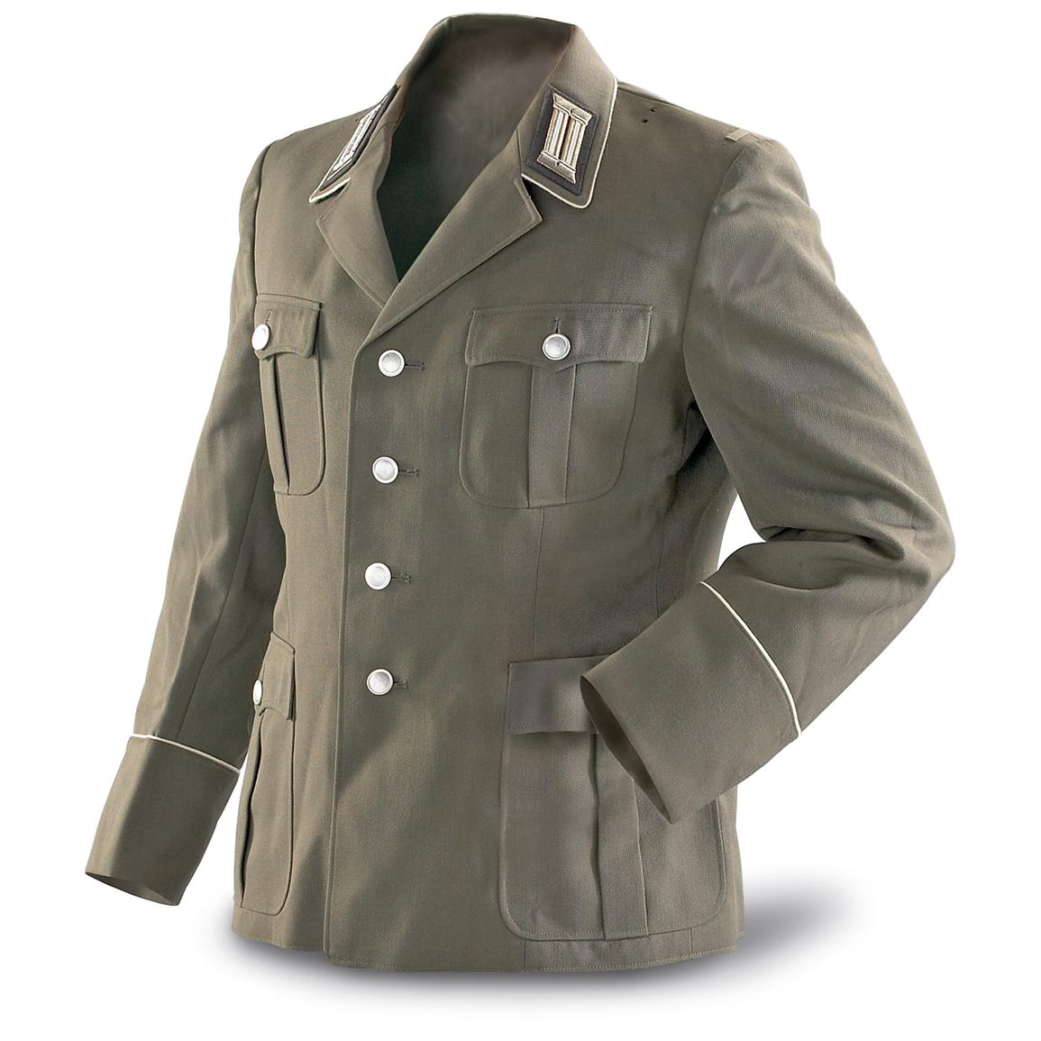 military jacket east german military surplus officeru0027s dress jacket, ... bxcbain