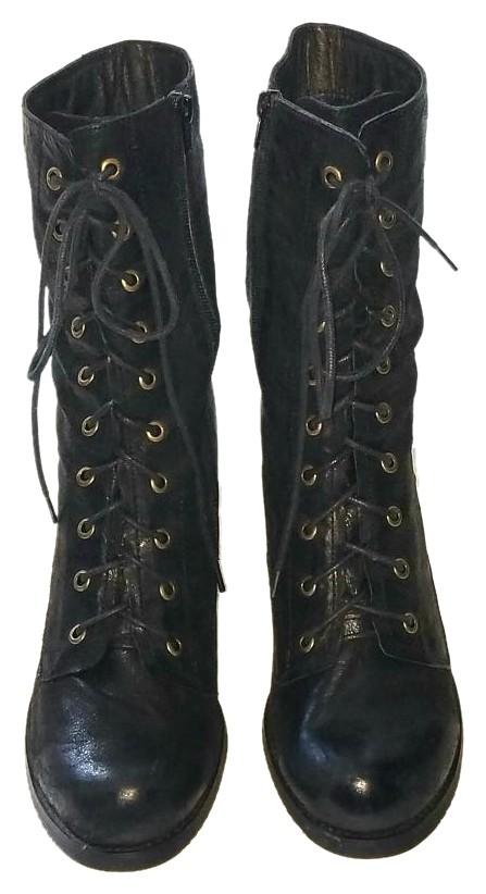 miz mooz boots miz mooz leather lace up black boots krpipzd