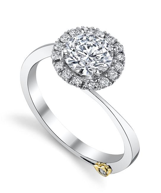 modern engagement rings angelic engagement ring - mark schneider design eobqhca