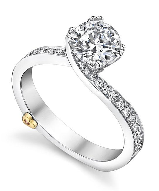 modern engagement rings clarity engagement ring - mark schneider design vhpcmxu
