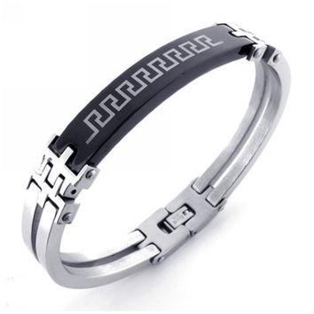 modern jewelry for men u0027s 316l titanium steel bracelet wumnrhl