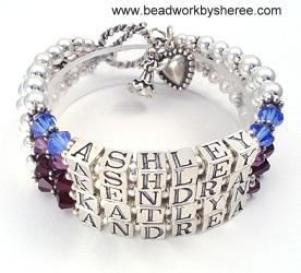 mother bracelets 4 strand - $250.00 ycjwbmm