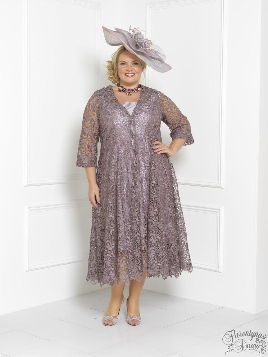 mother of bride outfits florentyna dawn silk brigitte dress and wild mink lace swing coat (fd1734) inetqzu
