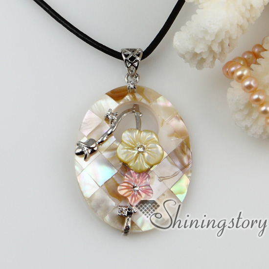 mother of pearl jewelry flower patchwork sea water rainbow abalone yellow black oyster shell mother  of pearl necklaces lsobeer