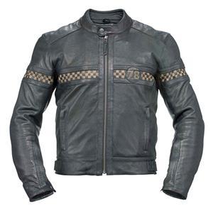 motorcycle leather jacket axo - vintage leather jacket - black utzekyv