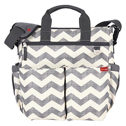 nappy bag skip hop duo signature carry all travel diaper bag tote with multipockets,  one size, cvesdzf
