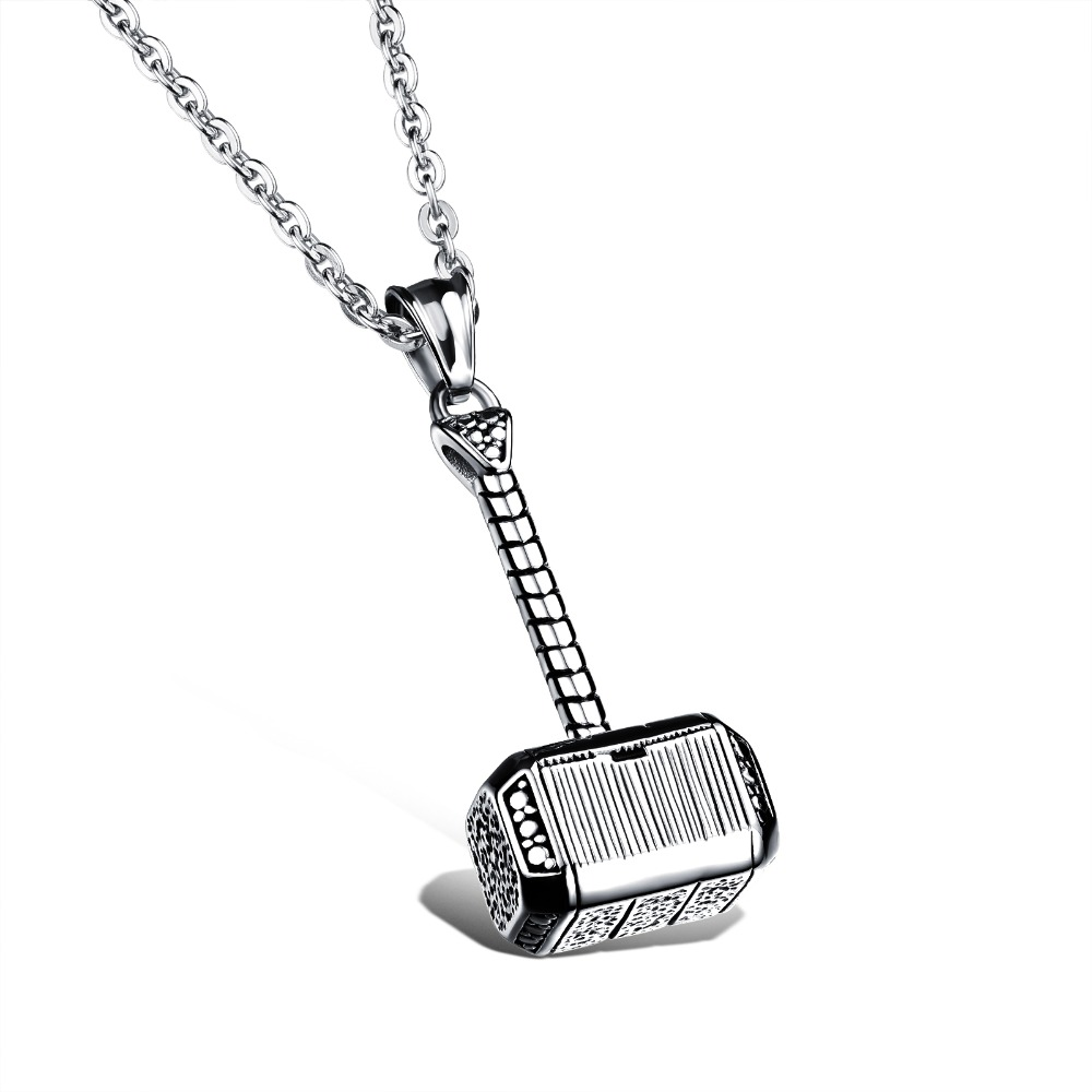 necklaces for men 316l stainless steel men necklace thor hammer fashion pendant necklaces  cool men jewelry 2 pugwdxy