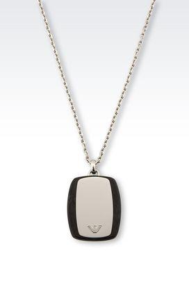 necklaces for men armani necklaces men steel necklace with medallion lurtplq