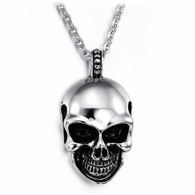 necklaces for men skull necklace men 316l stainless steel men necklace fashion skull pendant  necklaces cool men wcctkhx