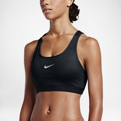 nike classic padded womenu0027s medium support sports bra. nike.com fntxqlf