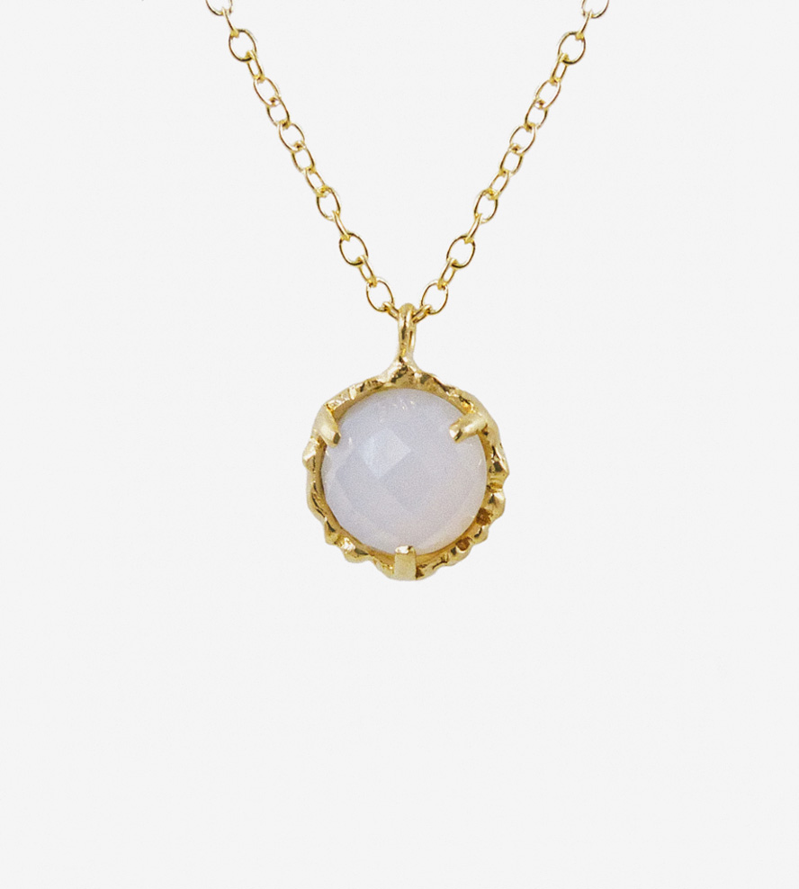 nova gemstone pendant necklace | featuring an ethically-sourced gem, this pendant  necklace is oiyxyze