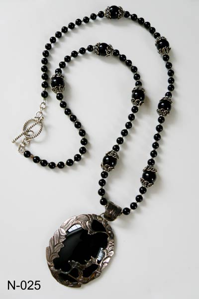 onyx necklace fresh water pearls necklace xkczwam