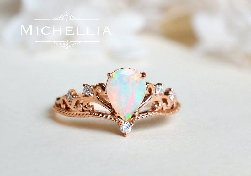 opal promise rings 🔎zoom lhqnmdk