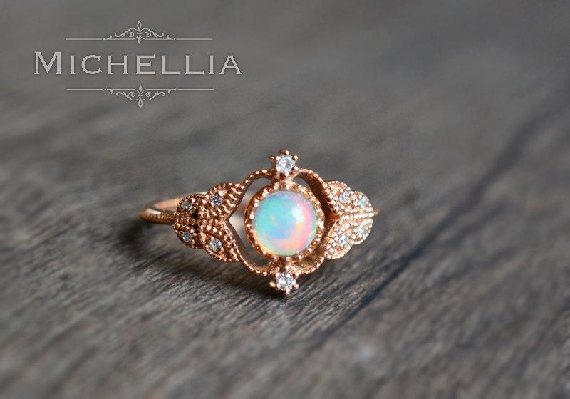 opal promise rings 🔎zoom vaoiiau