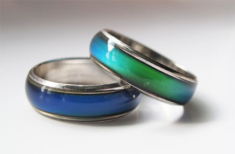 Get a Mood Ring to add functionality and style to your dress style