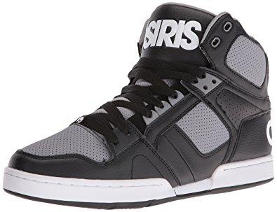 osiris shoes osiris menu0027s nyc 83 skateboarding shoe, black/grey, ... cflbyiy