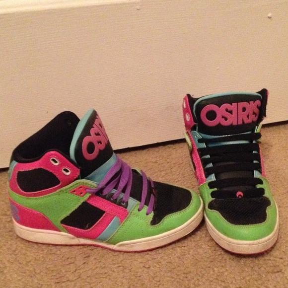osiris shoes womenu0027s osiris multi color skate shoes zyicbod