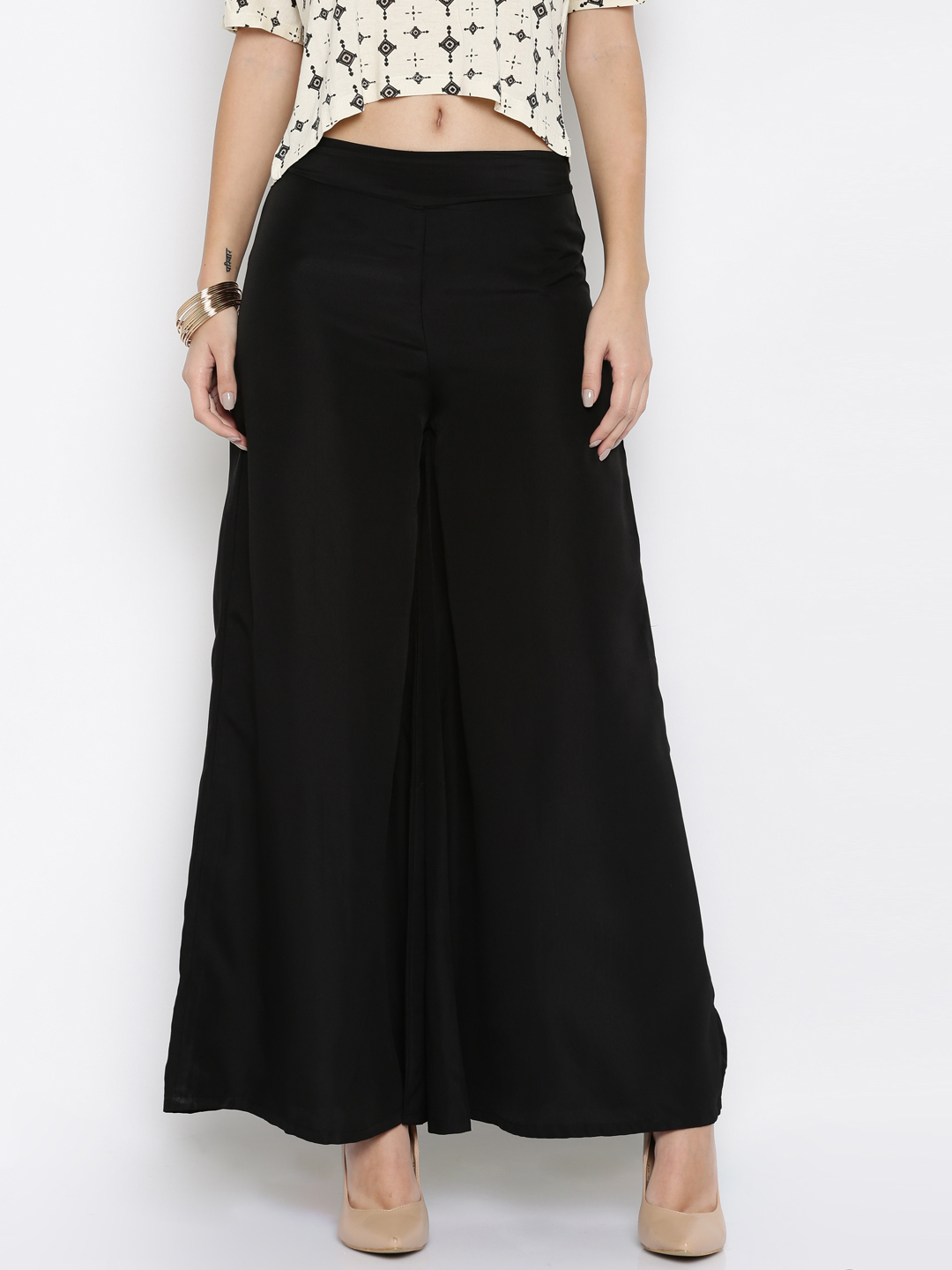 palazzo trousers palazzos for women - buy palazzo pants online for women djcwurl