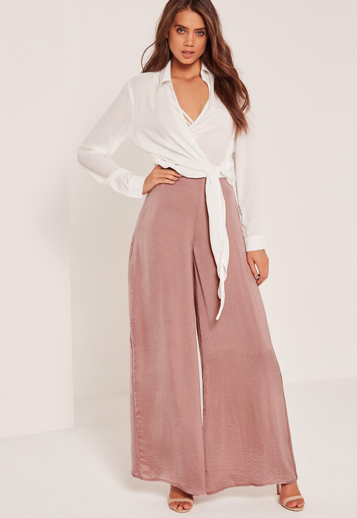 How to shop for palazzo trousers
