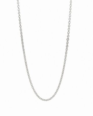 pandora. sterling silver chain necklace bknofsh