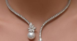 pearl and diamond necklace lovely necklace of pearls and diamonds ttsdnxw