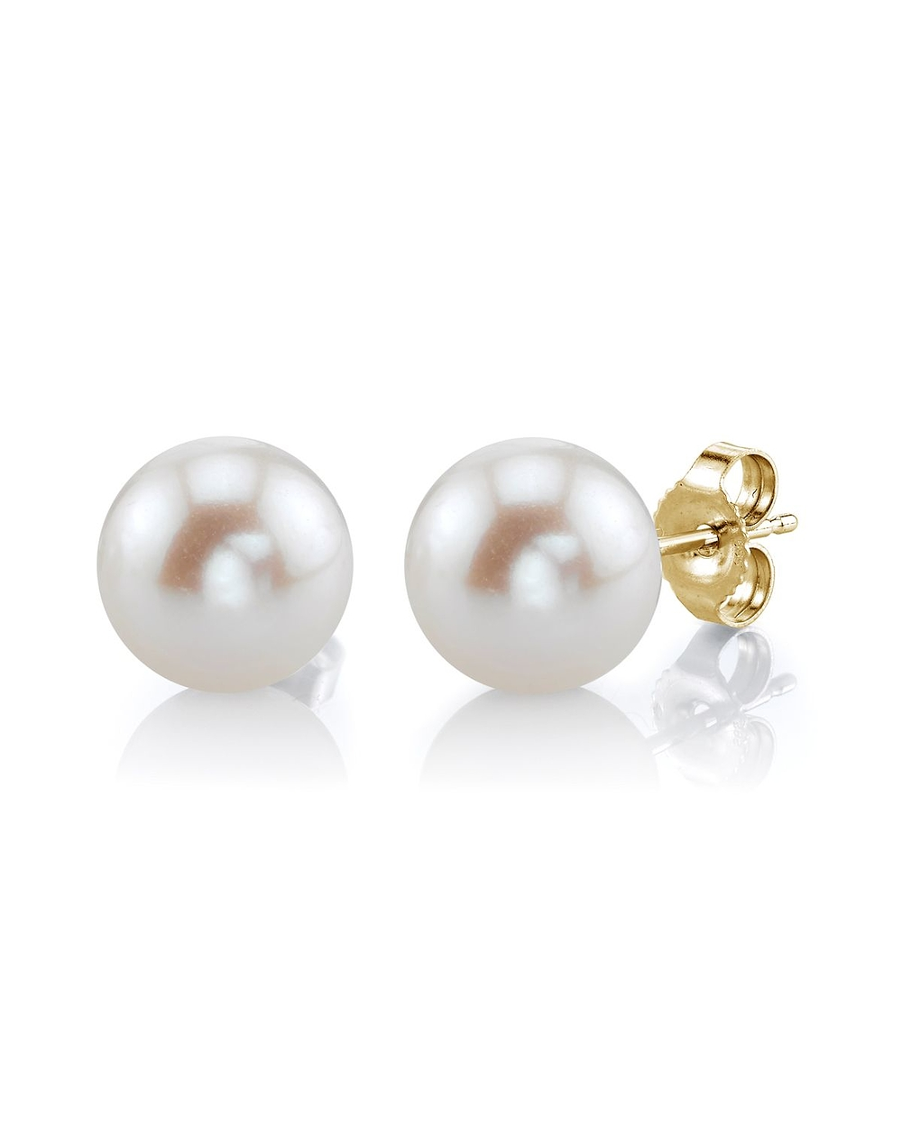 pearl earrings 7mm white freshwater pearl stud earrings rxgfpuk