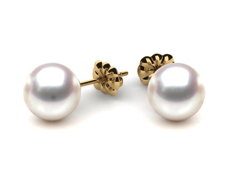 pearl earrings pearl earring 8mm aaa quality japanese akoya cultured pearl stud earrings eugseuh
