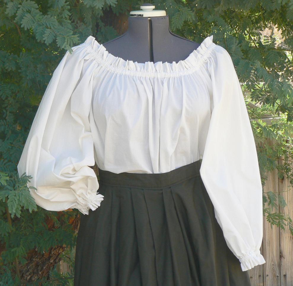 peasant blouse 🔎zoom vvkebfn