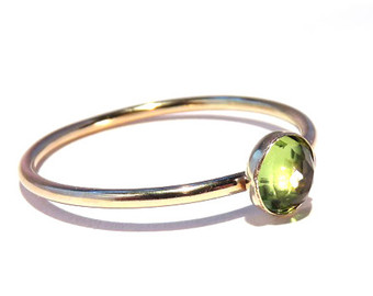 peridot rings peridot ring, gold peridot ring, peridot stacking ring, august ring, gold  stacking uhlpkig