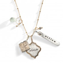 personalized necklaces avalon personalized charm necklace 1 iuzcqft