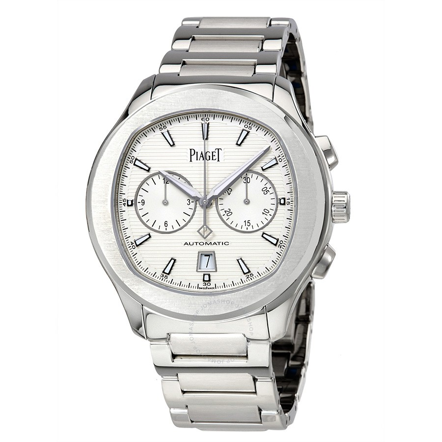 piaget watches piaget polo s chronograph automatic menu0027s watch g0a41004 ... dkqzrfz