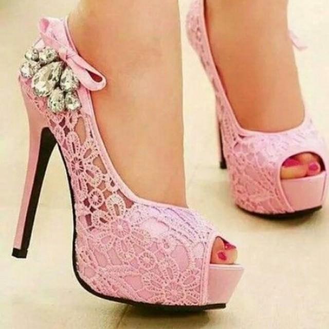 pink high heels for model yiuznvh