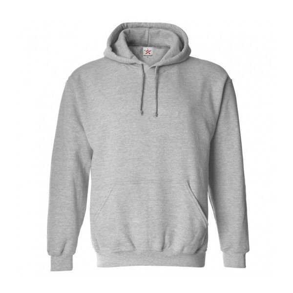 plain heather grey hoodie ❤ liked on polyvore featuring tops, hoodies,  hoodie sweatshirts, tetfiap