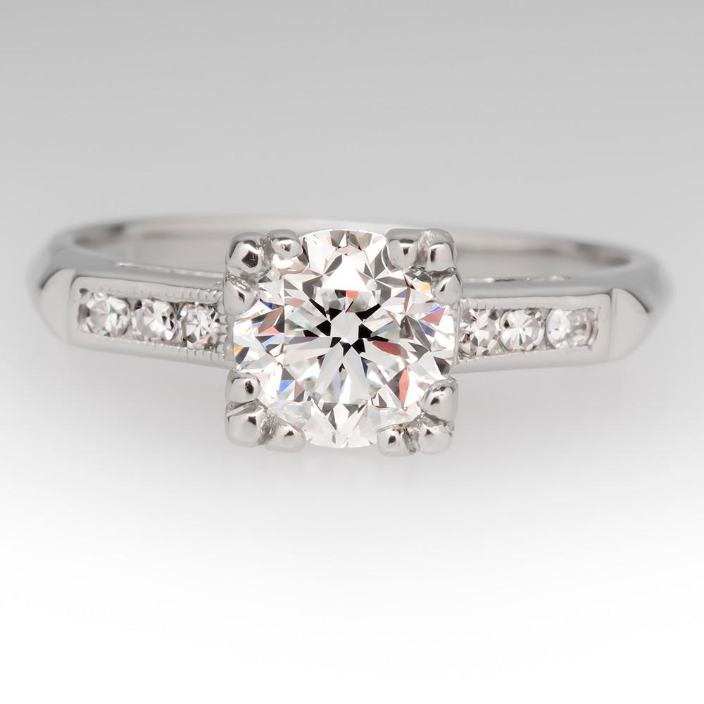 platinum vintage engagement rings dgeqskn