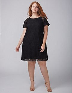 plus size special occasion dresses flutter-sleeve lace swing dress wvhpcfs