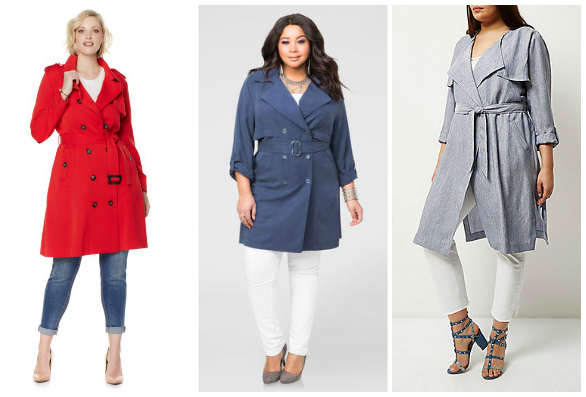 plus size trench coat plus size trench coats3 dkwhjas