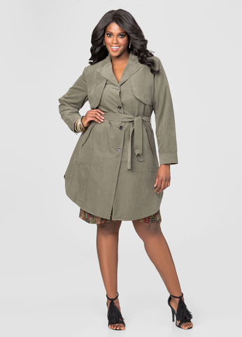 plus size trench coat which trench coat would you wear? havzgot