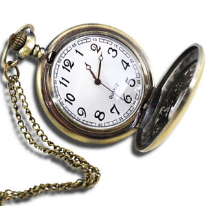 pocket watch image is loading vintagestyle-antique-pocket-watch-with-31-034-chain- dfnsajn