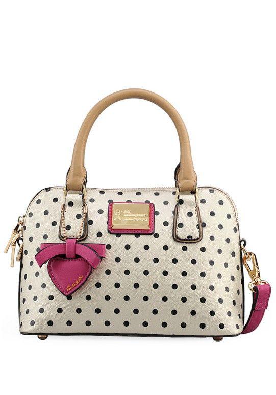 polka dot printed tote bag,cute bags,vintage bags,cute handbags,polka qvkazdo