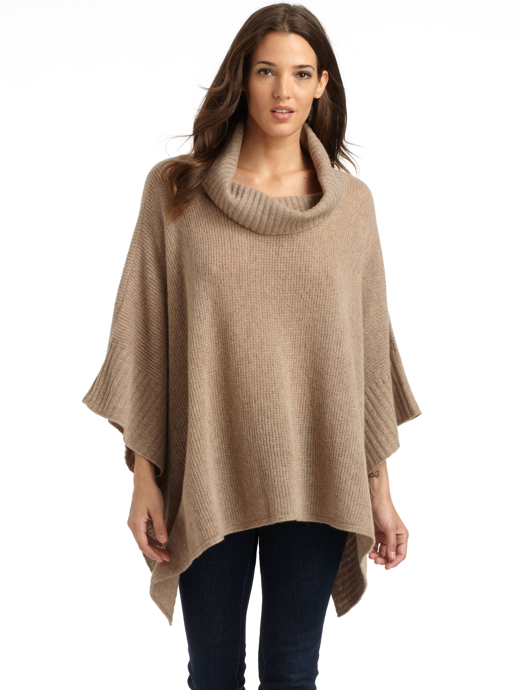 Shop all cozy cashmere, rich, soft alpaca, wool blends, or comfy cottons, we offer it all in open wrap sweaters, crewnecks, cable knits, v-necks, cropped jumpers, oversized sweaters, grandfather cardigans, classic turtlenecks and more.