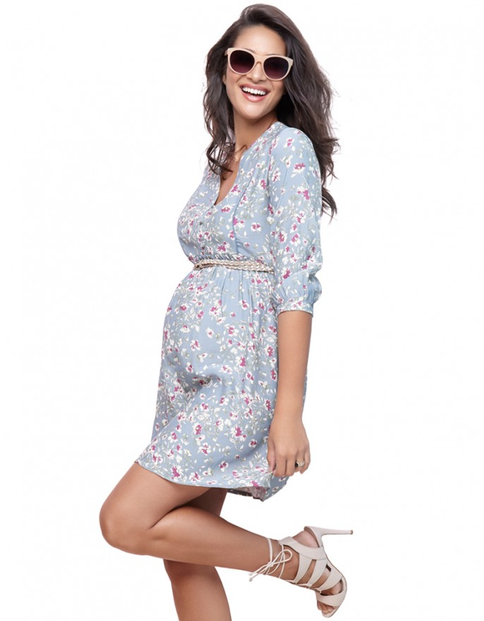 pregnant dresses sky blue floral woven maternity dress sky blue floral woven maternity dress jismqys