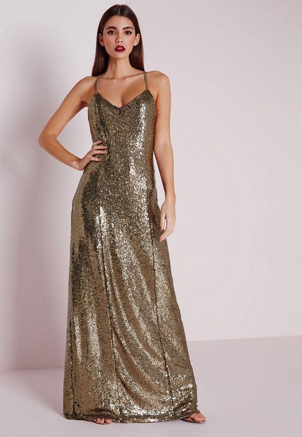 premium sequin maxi dress bronze. $51.00. previous next ctixnxo