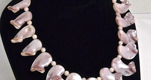 pretty pink mother of pearl jewelry pyzaftx