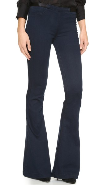 pull on jeans blank denim pull on flare jeans cglazvu