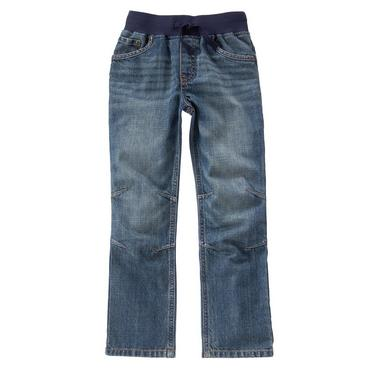 pull on jeans boys faded wash pull-on jeans by gymboree lywkbpa